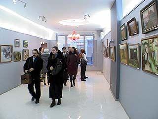 В центре Воронежа открылась новая картинная галерея