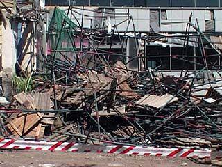 В центре Воронежа рухнули строительные леса: пострадало четыре человека