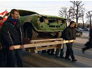 В центре Воронежа состоялась необычная акция