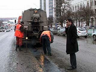 В центре Воронежа в честь инаугурации губернатора навели порядок