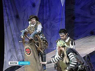 """В ТЮЗе премьера для маленьких к большому юбилею - """"Весёлый Роджер"""""""