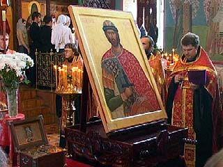 В Успенский семинарский храм доставлены Мощи Александра Невского