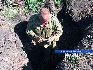 В Верхнем Мамоне найдены останки 150-ти советских воинов