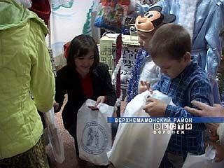 В Верхнемамонском детском реабилитационном центре - праздник