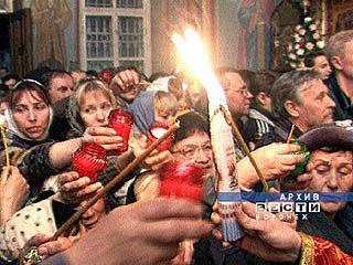 В Воронеж будет доставлен Благодатный огонь