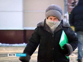 В Воронеж идёт настоящая зима