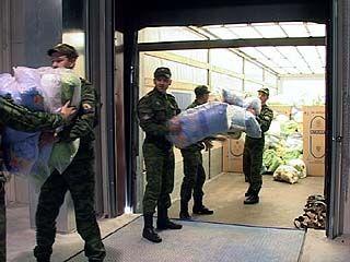 В Воронеж поступила гуманитарная помощь от белорусских таможенников