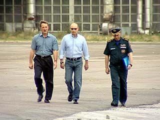 В Воронеж прибыл премьер Владимир Путин