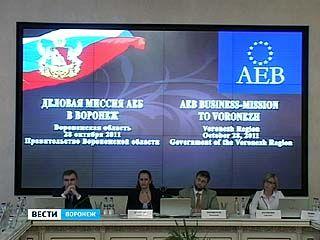 В Воронеж прибыла делегация Ассоциации европейского бизнеса