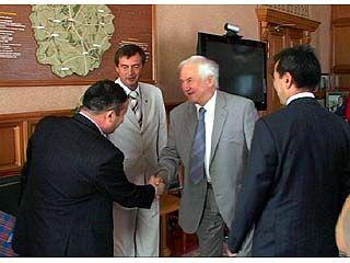 В Воронеж прибыла делегация из Киргизии