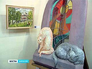 В Воронеж приехали скульптуры из Тамбова