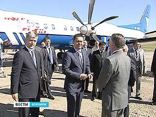 В Воронеж прилетела делегация из республики Кыргызстан