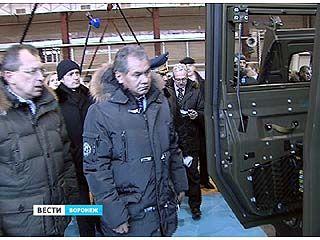 В Воронеж с рабочей поездкой прилетел министр обороны Сергей Шойгу