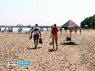 В Воронеже благоприятными признали только два оборудованных для купания места