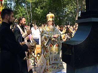 В Воронеже был освящен поклонный крест