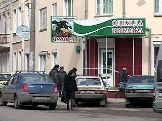 В Воронеже была совершена попытка поджога оружейного магазина