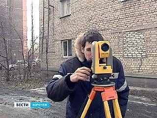 В Воронеже делят дворы между многоэтажками
