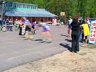В Воронеже финишировал Кубок области по лыжероллерам