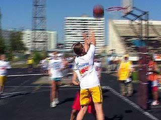 В Воронеже финишировал турнир по уличному баскетболу