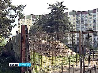 В Воронеже фундамент под дома копают рядом с древним захоронением