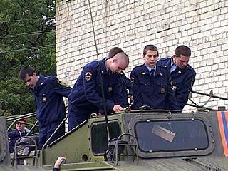 В Воронеже готовят спасателей МЧС
