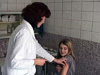 В Воронеже идет вакцинация против гриппа