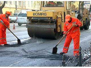В Воронеже идут масштабные дорожные работы