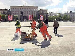 В Воронеже избавились от пешеходного перехода