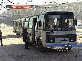 В Воронеже изменится порядок распределения пассажирских маршрутов