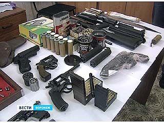 В Воронеже ликвидирован канал незаконного сбыта огнестрельного оружия