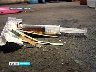 В Воронеже ликвидирована лаборатория по производству синтетических наркотиков