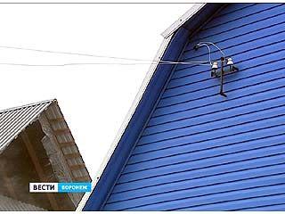 В Воронеже на Левом Берегу более 100 домов остались без света