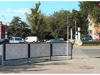 В Воронеже на смену дорожным милиционерам приходят рекламные щиты