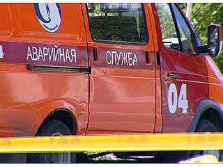 В Воронеже на улице 9-го января произошел разрыв газопровода высокого давления