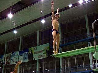 В Воронеже начались соревнования по прыжкам в воду