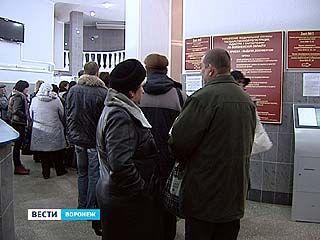 В Воронеже надо отстоять в очереди несколько дней, чтобы получить зелёнку
