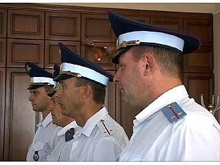 В Воронеже наградили сотрудников ДПС, задержавших автомобиль с иконами
