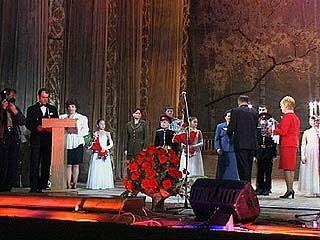 В Воронеже награждали талантливых воспитанников интернатов