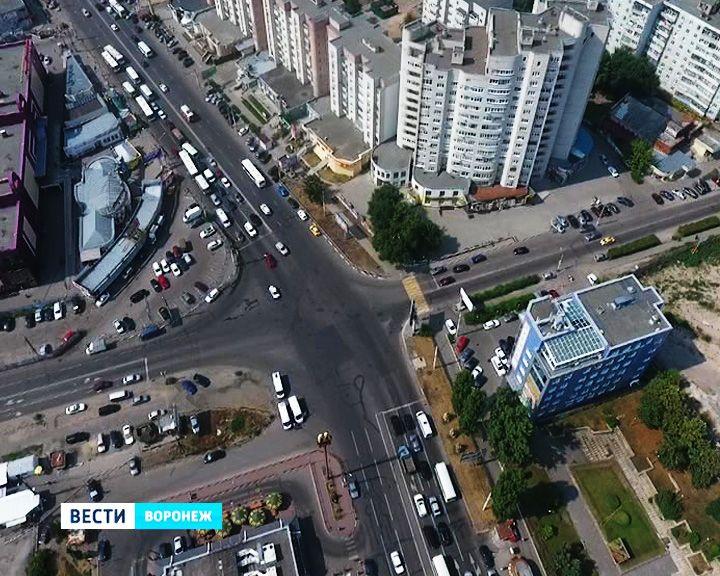 В Воронеже наконец-то решат «дорожный ребус» на перекрёстке Димитрова и Ленинского проспекта