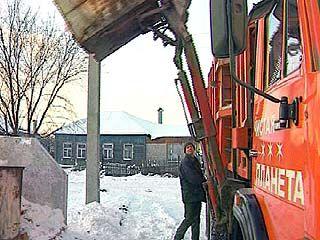 В Воронеже не предусмотрен вывоз крупногабаритного мусора