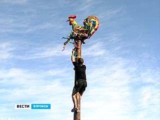 В Воронеже, несмотря на мороз, уже провожают зиму