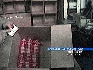 В Воронеже обнаружен подпольный цех по производству сигарет