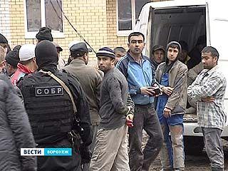 """В Воронеже """"охота"""" на нелегальных мигрантов может обернуться большими проблемами - содержать нелегалов негде"""