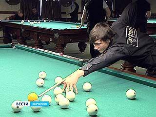 В Воронеже определяют чемпиона по бильярду