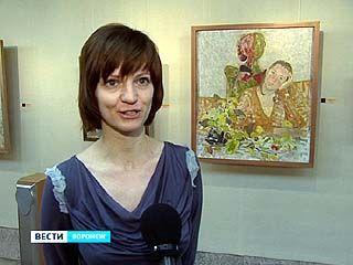 В Воронеже открылась персональная выставка художницы Александры Зиненко
