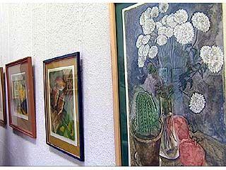 В Воронеже открылась выставка художественных работ студентов