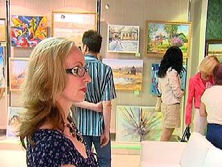 В Воронеже открылась выставка художницы Елены Кокориной
