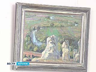 В Воронеже открылась выставка картин Максима Аникандрова