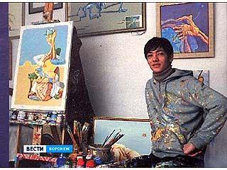 В Воронеже открылась выставка молодого осетинского художника Тимура Андиева