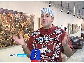 В Воронеже открылась выставка Никиты Старика